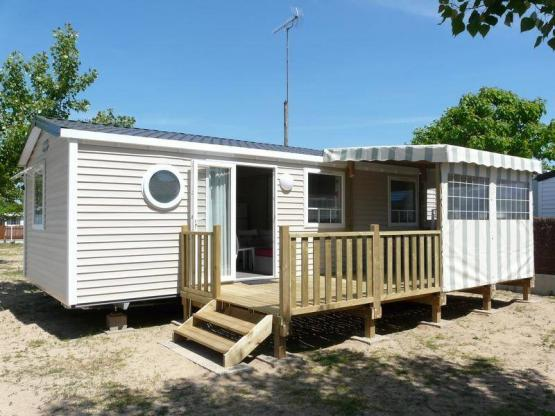 Mobil home Grand Confort 31 m² / 3 chambres - terrasse couverte