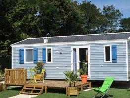 Mobil-home CONFORT+ 32 m² / 3 chambres - terrasse
