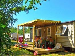 Les Cottages : Mobilheim Confort + 3 Zimmer
