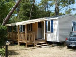 Mobile-home 3 bedrooms Half-covered terrace