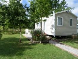 CONFORT + Mobile Home 1 bedroom 20m² + terrace