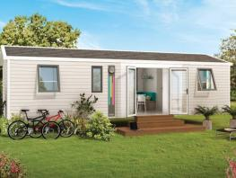 Mobil-home Univers Family 36 m² + 4  chambres + terrasse couverte 18m²