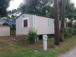 « Mobile-home PALOURDE »  2 Bedrooms