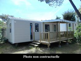 Mobil-home 2 bedrooms, 28m² for 4 person maximum
