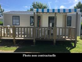 Mobil-home 2 bedrooms, 32m² for 5 people maximum