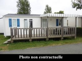 Mobil-home 3 bedrooms, 32m², for 6 people maximum