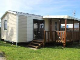 Mobil home Grand Confort 24m² / 2 chambres + terrasse couverte